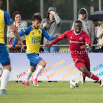 14-07-2017: Voetbal: SC Cambuur v Almere City FC: Leeuwarden (L-R) Stefano Lilipaly (SC Cambuur), Leeroy Owuau (Almere City FC) Oefenduel 2017 / 2018