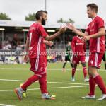 20-07-2017: Voetbal: SC  Almere City FC v Granada CF: Almere (L-R) Soufyan Ahannach (Almere City FC), Sven Braken (Almere City FC) Oefenduel 2017 / 2018