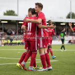 20-07-2017: Voetbal: SC  Almere City FC v Granada CF: Almere (L-R) Erik Quekel (Almere City FC), Soufyan Ahannach (Almere City FC), Sven Braken (Almere City FC), Gaston Salasiwa (Almere City FC) Oefenduel 2017 / 2018