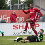 20-07-2017: Voetbal: SC  Almere City FC v Granada CF: Almere Arsenio Valpoort (Almere City FC) Oefenduel 2017 / 2018