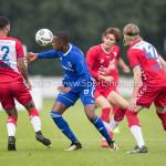 08-08-2017: Voetbal: Jong FC Utrecht v Almere City FC: Utrecht Arsenio Valpoort (Almere City FC) Oefenduel 2017 / 2018