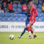 08-08-2017: Voetbal: Jong FC Utrecht v Almere City FC: Utrecht Achille Vaarnold (Almere City FC) Oefenduel 2017 / 2018