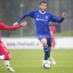 08-08-2017: Voetbal: Jong FC Utrecht v Almere City FC: Utrecht Javier Vet (Almere City FC) Oefenduel 2017 / 2018