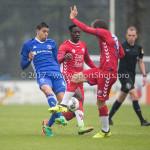 08-08-2017: Voetbal: Jong FC Utrecht v Almere City FC: Utrecht Faris Hammouti (Almere City FC) Oefenduel 2017 / 2018