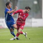 08-08-2017: Voetbal: Jong FC Utrecht v Almere City FC: Utrecht Khalid Tadmine (Almere City FC) Oefenduel 2017 / 2018
