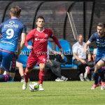 11-08-2017: Voetbal: Go Ahead Eagles v Almere City FC: Zeist Tom Overtoom (Almere City FC) Oefenduel 2017 / 2018