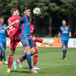 11-08-2017: Voetbal: Go Ahead Eagles v Almere City FC: Zeist (L-R) Javier Vet (Almere City FC), Sam Hendriks (Go Ahead Eagles) Oefenduel 2017 / 2018