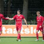 11-08-2017: Voetbal: Go Ahead Eagles v Almere City FC: Zeist (L-R) Javier Vet (Almere City FC), Sven Braken (Almere City FC) Oefenduel 2017 / 2018