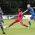 11-08-2017: Voetbal: Go Ahead Eagles v Almere City FC: Zeist (L-R) Achille Vaarnold (Almere City FC), Tim Siekman (Go Ahead Eagles) Oefenduel 2017 / 2018