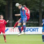 11-08-2017: Voetbal: Go Ahead Eagles v Almere City FC: Zeist (L-R) Xandro Schenk (Go Ahead Eagles), Sven Braken (Almere City FC) Oefenduel 2017 / 2018