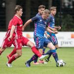 11-08-2017: Voetbal: Go Ahead Eagles v Almere City FC: Zeist (L-R) Sven Braken (Almere City FC), Sjoerd Overgoor (Go Ahead Eagles) Oefenduel 2017 / 2018