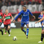 18-08-2017: Voetbal: NEC v Almere City FC: Nijmegen (L-R) Gregor Breinburg (NEC), Arsenio Valpoort (Almere City FC) Jupiler League 2017 / 2018
