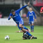 18-08-2017: Voetbal: NEC v Almere City FC: Nijmegen (L-R) Jerge Hoefdraad (Almere City FC), Gregor Breinburg (NEC) Jupiler League 2017 / 2018