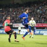 18-08-2017: Voetbal: NEC v Almere City FC: Nijmegen (L-R) Calvin Verdonk (NEC), Javier Vet (Almere City FC) Jupiler League 2017 / 2018