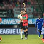 18-08-2017: Voetbal: NEC v Almere City FC: Nijmegen (L-R) Ed Janssen (Scheidsrechter), Ted van de Pavert (NEC) Jupiler League 2017 / 2018