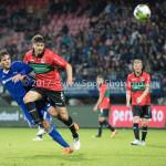 18-08-2017: Voetbal: NEC v Almere City FC: Nijmegen (L-R) Javier Vet (Almere City FC), Ted van de Pavert (NEC) Jupiler League 2017 / 2018