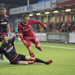 08-09-2017: Voetbal: Almere City FC v Helmond Sport: Almere (L-R) Robert Barber (Helmond Sport). Gaston Salasiwa (Almere City FC) Jupiler League 2017 / 2018