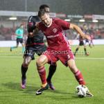 08-09-2017: Voetbal: Almere City FC v Helmond Sport: Almere (L-R) Furhgill Zeldenrust (Helmond Sport), Josef Kvída (Almere City FC) Jupiler League 2017 / 2018