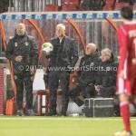 08-09-2017: Voetbal: Almere City FC v Helmond Sport: Almere (L-R) Marco Heering - Assistent trainer (Almere City FC), Jack de Gier - Technisch manager/Hoofdtrainer (Almere City FC) Jupiler League 2017 / 2018