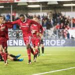 08-09-2017: Voetbal: Almere City FC v Helmond Sport: Almere /r Ezra Walian (Almere City FC), Arsenio Valpoort (Almere City FC) Jupiler League 2017 / 2018