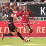 08-09-2017: Voetbal: Almere City FC v Helmond Sport: Almere (L-R) Stephen Warmolts (Helmond Sport), Arsenio Valpoort (Almere City FC) Jupiler League 2017 / 2018