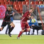 08-09-2017: Voetbal: Almere City FC v Helmond Sport: Almere (L-R) Jordy Thomassen (Helmond Sport), Jeffrey Rijsdijk (Almere City FC) Jupiler League 2017 / 2018