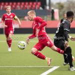 09-09-2017: Voetbal: Jong Almere City FC v Scheveningen: Almere (L-R) Silvester van der Water (Jong Almere City FC), Gio van Ree (SVV Scheveningen) 3de divisie zaterdag 2017 / 2018
