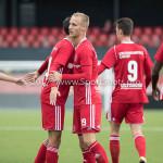09-09-2017: Voetbal: Jong Almere City FC v Scheveningen: Almere Celebrating 3de divisie zaterdag 2017 / 2018