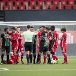 09-09-2017: Voetbal: Jong Almere City FC v Scheveningen: Almere 3de divisie zaterdag 2017 / 2018