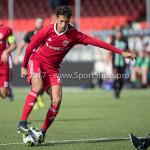 09-09-2017: Voetbal: Jong Almere City FC v Scheveningen: Almere Anass Ahannach (Jong Almere City FC) 3de divisie zaterdag 2017 / 2018