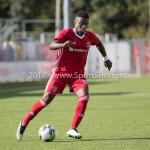 09-09-2017: Voetbal: Jong Almere City FC v Scheveningen: Almere Leeroy Owusu (Jong Almere City FC) 3de divisie zaterdag 2017 / 2018