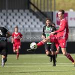 09-09-2017: Voetbal: Jong Almere City FC v Scheveningen: Almere Dennis van der Heijden (Jong Almere City FC) 3de divisie zaterdag 2017 / 2018