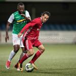15-09-2017: Voetbal: FC Dordrecht v Almere City FC: Dordrecht (L-R) Cendrino Misidjan (FC Dordrecht), Ezra Walian (Almere City FC) Jupiler League 2017 / 2018