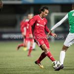 15-09-2017: Voetbal: FC Dordrecht v Almere City FC: Dordrecht (L-R) Ezra Walian (Almere City FC), Erol Alkan (FC Dordrecht) Jupiler League 2017 / 2018