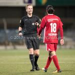 15-09-2017: Voetbal: FC Dordrecht v Almere City FC: Dordrecht (L-R) Ingmar Oostrom (Scheidsrechter), Ezra Walian (Almere City FC) Jupiler League 2017 / 2018
