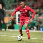 15-09-2017: Voetbal: FC Dordrecht v Almere City FC: Dordrecht Arsenio Valpoort (Almere City FC) Jupiler League 2017 / 2018