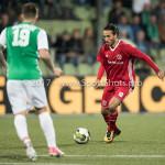 15-09-2017: Voetbal: FC Dordrecht v Almere City FC: Dordrecht Ezra Walian (Almere City FC) Jupiler League 2017 / 2018