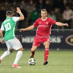 15-09-2017: Voetbal: FC Dordrecht v Almere City FC: Dordrecht (L-R) Denis Mahmudov (FC Dordrecht), Damon Mirani (Almere City FC) Jupiler League 2017 / 2018