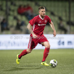 15-09-2017: Voetbal: FC Dordrecht v Almere City FC: Dordrecht Kevin Brands (Almere City FC) Jupiler League 2017 / 2018