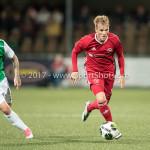 15-09-2017: Voetbal: FC Dordrecht v Almere City FC: Dordrecht (L-R) Jordy Vleugels (FC Dordrecht), Jeffrey Rijsdijk (Almere City FC) Jupiler League 2017 / 2018