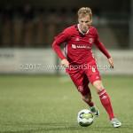 15-09-2017: Voetbal: FC Dordrecht v Almere City FC: Dordrecht Jeffrey Rijsdijk (Almere City FC) Jupiler League 2017 / 2018