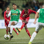 15-09-2017: Voetbal: FC Dordrecht v Almere City FC: Dordrecht Achille Vaarnold (Almere City FC) Jupiler League 2017 / 2018
