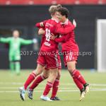 16-09-2017: Voetbal: Almere City FC O19 v AFC O19: Almere (L-R) Jelle Goselink (Almere City FC O19), Bernardo dos Santos Monteiro (Almere City FC O19) Seizoen 2017 / 2018