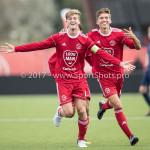 16-09-2017: Voetbal: Almere City FC O19 v AFC O19: Almere (L-R)Jelle Goselink (Almere City FC O19), Huib van Eijnsbergen (Almere City FC O19) Seizoen 2017 / 2018