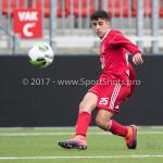 16-09-2017: Voetbal: Almere City FC O19 v AFC O19: Almere Zinneddine Oukhita (Almere City FC O19) Seizoen 2017 / 2018
