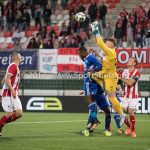 19-09-2017: Voetbal: FC Oss v Almere City FC: Oss (L-R) Arsenio Valpoort (Almere City FC), Ronald Koeman (FC Oss) Jupiler League 2017 / 2018