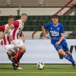 19-09-2017: Voetbal: FC Oss v Almere City FC: Oss (L-R) Frenk Keukens (FC Oss), Josef Kvída (Almere City FC) Jupiler League 2017 / 2018