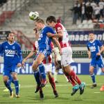 19-09-2017: Voetbal: FC Oss v Almere City FC: Oss (L-R)Damon Mirani (Almere City FC), Ferry de Regt (FC Oss) Jupiler League 2017 / 2018