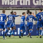 19-09-2017: Voetbal: FC Oss v Almere City FC: Oss Almere City FC Celebrating 0 - 2 Jupiler League 2017 / 2018