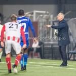 19-09-2017: Voetbal: FC Oss v Almere City FC: Oss (L-R) Jeffrey Rijsdijk (Almere City FC), Jack de Gier - Technisch manager/Hoofdtrainer (Almere City FC) Jupiler League 2017 / 2018